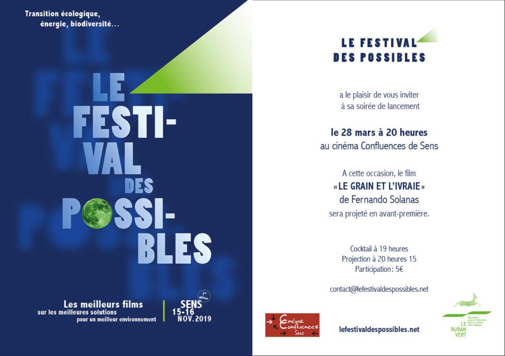 Soirée Présentation du Festival